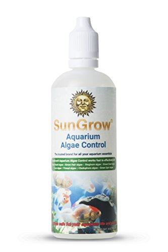 Aquarium Algae Control - Kills black beard, green hair Algae - Protects fishes and plants - Use daily in right proportions - Ideal for salt and Freshwater Aquarium - Get rid of Green water in 7 days