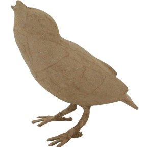 Art Alternatives Pm06330 Paper-Mache Bird Standing-4''X4.5''X2''