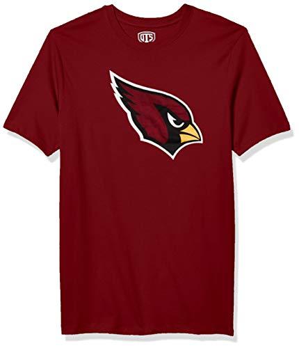 OTS mens Rival Tee NFL Large, Cardinal Arizona Cardinals,