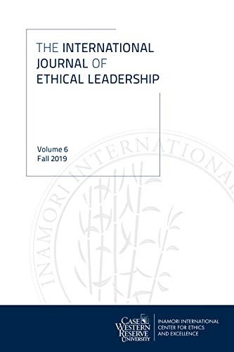 International Journal of Ethical Leadership, vol 6 (International Journal Of English Literature And Culture)