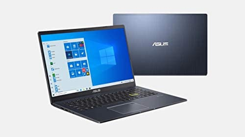 "Asus Vivobook L510 Ultra Thin Laptop I 15.6"" FHD Display I Intel Celeron N4020 I 4GB RAM 64GB eMMC I Backlit Fingerprint USB-C HDMI Win10S + 2Weeks SkyCare Support"