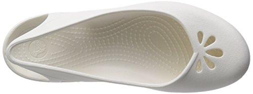 Oyster Taylor Slingback Crocs Women's Flat YfI44q