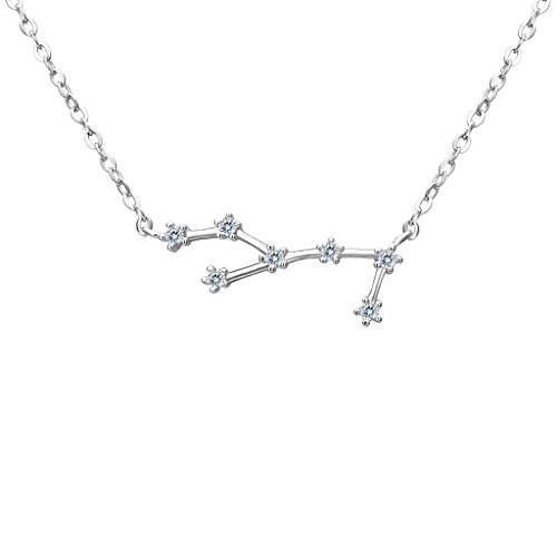 BriLove Sterling Horoscope Constellation Necklace product image