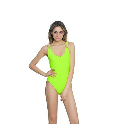 YONGYI moda europea y americana de verano playa atractiva siameses Figura delgada era delgado atractivo del halter de traje de baño bikini Sra.