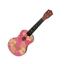 pink aloha 21 toy ukulele. Black Bedroom Furniture Sets. Home Design Ideas