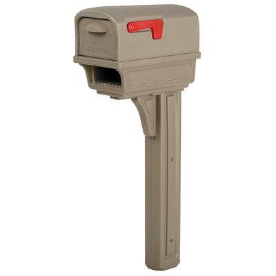 Mailbox/Post Plastic Mocha