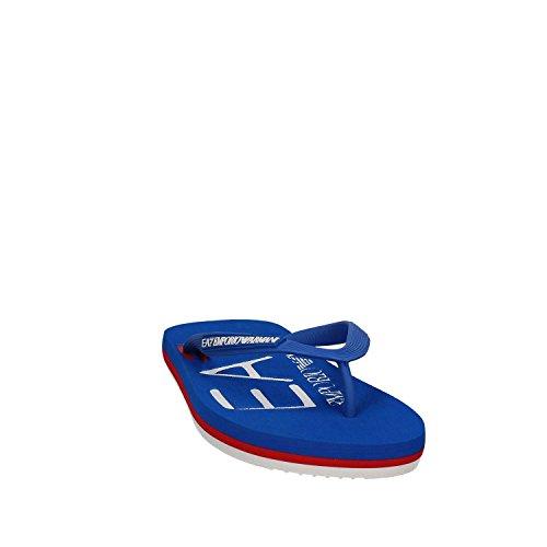 Ea7 emporio armani 905001 7P295 Flip flops Man Blue 40