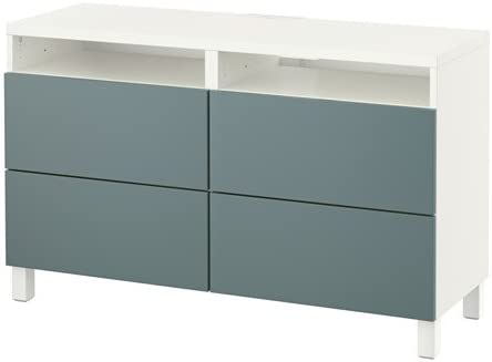 Ikea 16204.112014.66 - Mueble de TV con cajones, Color Blanco ...