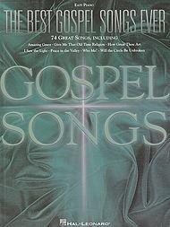 Hal Leonard The Best Gospel Songs Ever For Easy Piano
