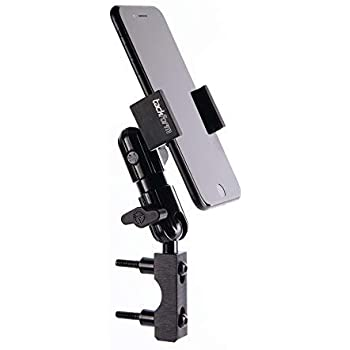 Brake/Clutch Reservoir Motorcycle Phone Mount - TACKFORM Enduro Series Leaders in Perch Mounts - No Modifications to your Bike - All Metal Construction - Spring Loaded One Handed Operation