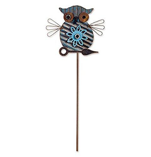 Sunset Vista Designs Owl Plant Pick Garden Art