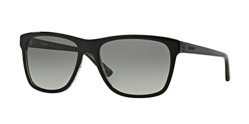DKNY DY4131 367411 Black DY4131 Wayfarer Sunglasses Lens Category 2 Size - Mens Dkny Sunglasses