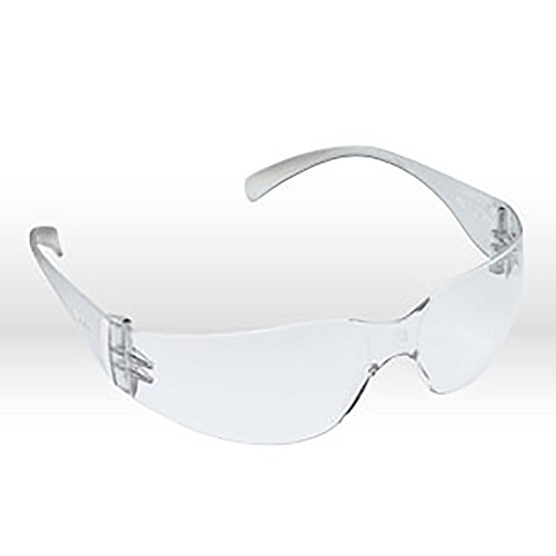 3M 70071559465 Virtua 11228-00000-100 Clear Polycarbonate Safety Glasses Uncoated Lens Clear Temple Price Per Each