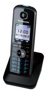 Panasonic KX-TGA815 - Teléfono (Auricular, 200 entradas, TFT, 12 h, 250 h) Negro (importado)