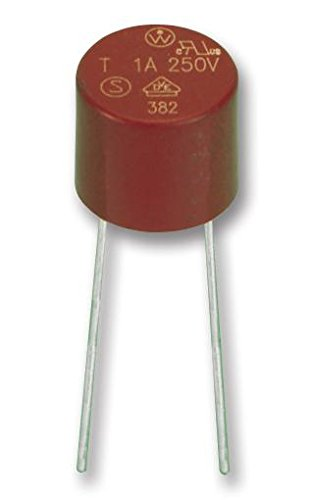 LITTELFUSE WICKMANN 19370K 1A FUSE TR5 QUICK BLOW 1A Epitome Certified Pack Size: 3