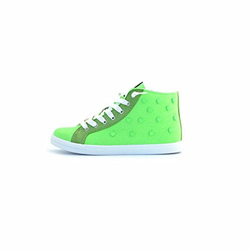 Love en Sneakers Moschino Verde tissu vert OESwHdBwq