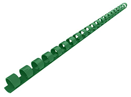 (Rayson CR-8-100-G Plastic Binding Combs 21-Ring, 5/16in, 40-Sheet(80gsm 20lb) Capacity, Green Comb Binding Ring, Max. Binding A4 Size Paper (8.3 x 11.7inches), Box of 100)