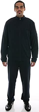 Hugo Boss Men's Navy Blue Cotton Long Sleeve Sweat Suit Track Jog Bm (S)