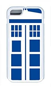TARDIS Blue Police POP Custom tpu white Case for iphone 5c iphone 5c by Best Share For All
