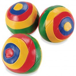Schylling Juggling Balls Striped JBN