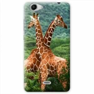Amazon.com: Case Carcasa Wiko Pulp 4G savane - - girafe duo ...