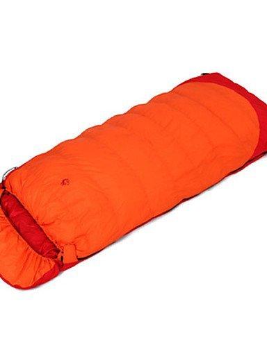 Schlafsack Rechteckiger Schlafsack Einzelbett(150 x 200 cm) -10? Enten Qualitätsdaune 1500g 220X85 Reisen warm halten Jungleking