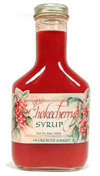 Wild Chokecherry Syrup, 12oz