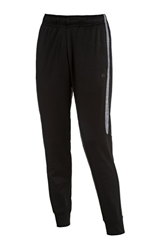 Layer 8 Men's Fleece Athletic Performance Sweat Pants (Medium, Black)