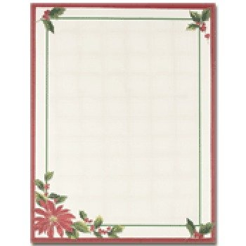 Masterpiece Pink Orchids Letterhead - 8.5 x 11 - 25 Sheets