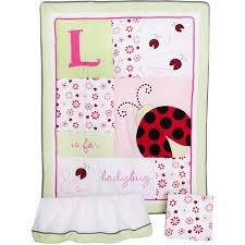Lil Kids Ladybug 3 piece Crib Set