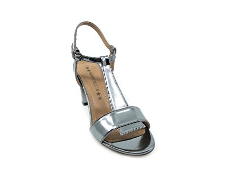 MARC ELLIS Women's Fashion Sandals Silver 77CAO19