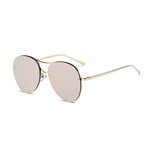 Grand cadre   polarisé   lunettes de soleil   ronde   lunettes de soleil    visage ed1d255c0cd3