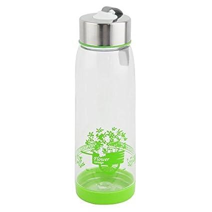 eDealMax Botella Taza de la Taza de agua Titular de viajes plástico al aire Libre de