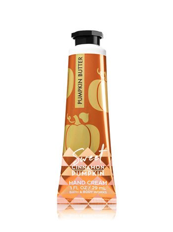 Bath & Body Works Shea Butter Hand Cream Sweet Cinnamon Pumpkin