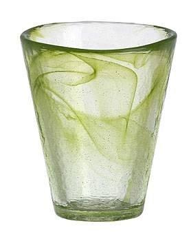 Kosta Boda Mine Tumbler, Lime