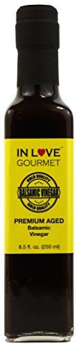 Premium Aged Balsamic Vinegar 8.5 fl. oz. (250 ml) by In Love Gourmet