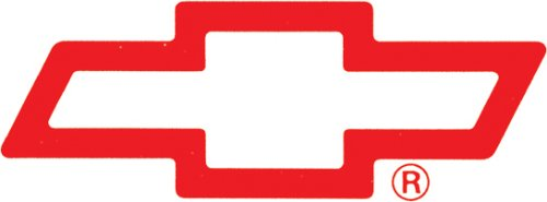 - Chroma Graphics Red Bowtie 6x20 Vinyl Decal