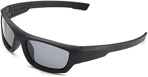 Naga Sports Youth Teenager UV400 Polarized Sunglasses for Baseball, Softball, Running, Fishing, Biking - Kids Ages 5-10