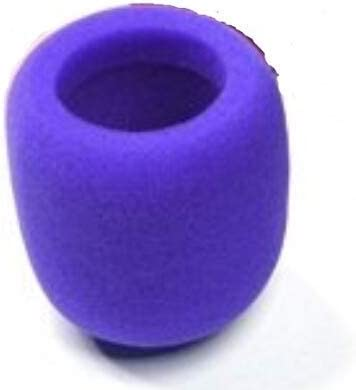Techrace Universal Foam Headset Microphone Windscreen Covers 10pk | for BlueParrott, Plantronics, Jabra, VXI Lux,