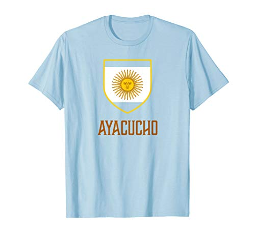 Ayacucho, Argentina - Argentino Shirt from Ann Arbor T-shirt Co.