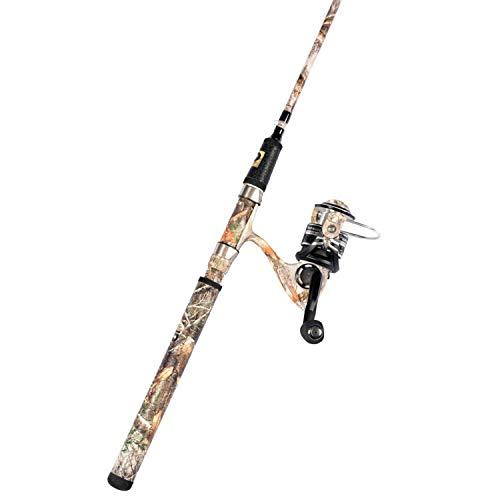 PROFISHIENCY 2 pc 6'8 Spinning Combo M/PRORTEG18 (Camo Fishing Pole)