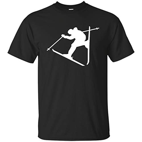 hirt Freestyle Skiing Funny Lifestyle for Men Women Tshirt ()