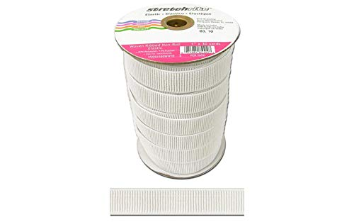 (SINGER Stretchrite Non-Roll Ribbed Elastic 1