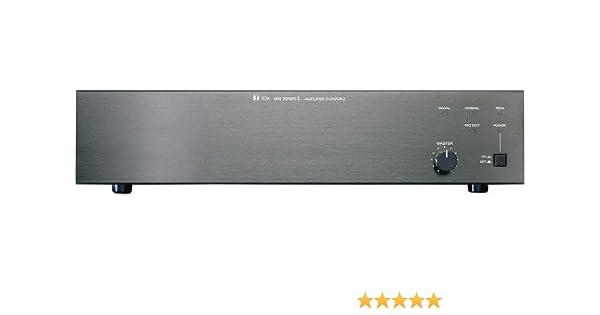 TOA 900 Series II 240W Single Channel Power Amplifier P-924MK2