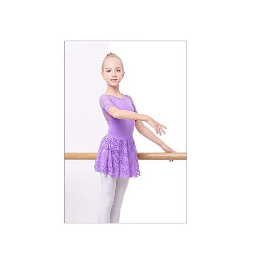 KUHU Conjunto de Falda de Ballet con Mangas para niñas, Ropa de ...