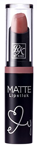 Kiss Ruby Kisses Matte Lipstick Nude Rose (3ml) (3 Pack)