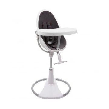 Bloom Fresco Chrome Contemporary Chair Frame - White