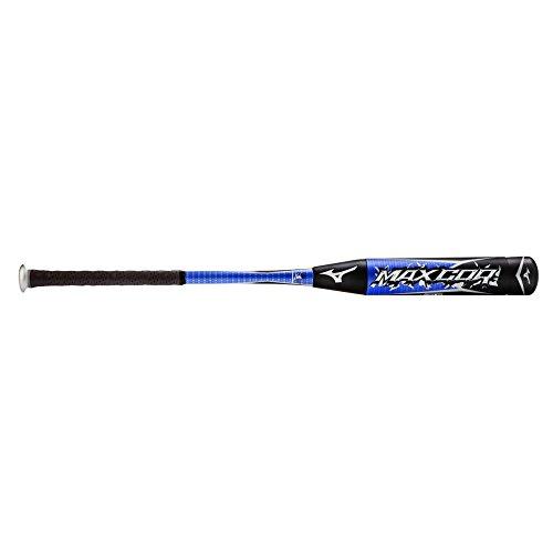 Mizuno MaxCor -3 BBCOR Adult Baseball Bat – Royal & Black (34″ / 31oz)