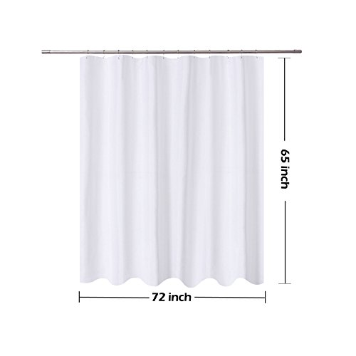 FREE SHIPPING NY HOME Short Cut Shower Curtain Liner Fabric