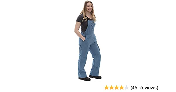 d22b44c029a7c Rosies Work Wear Overalls for Women| Work & Gardening Cotton Bib Overalls  with Knee Pads & Multiple Tool Pockets